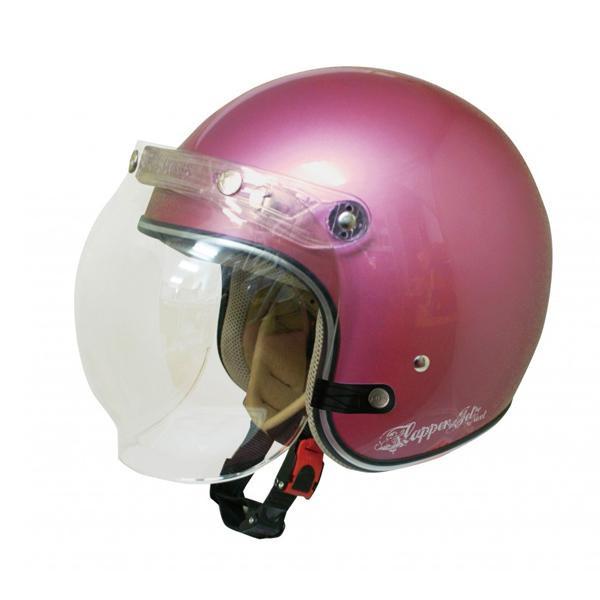 ダムトラックス(DAMMTRAX) フラッパージェットネクスト ヘルメット PINK 【代引不可】【北海道・沖縄・離島配送不可】