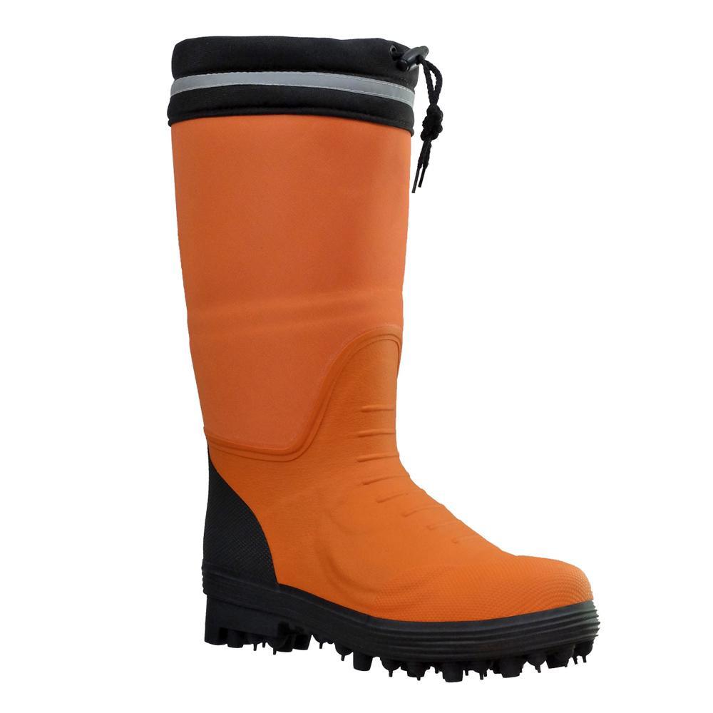 防護材付スパイク作業靴 スパイクタフマン・プロ V-560G 24.0 【代引不可】【北海道・沖縄・離島配送不可】