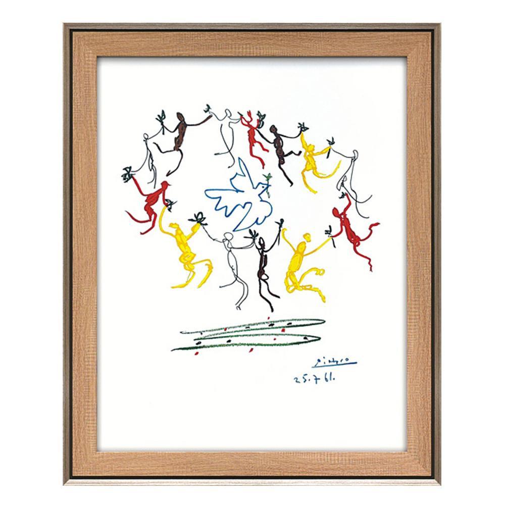 ユーパワー パブロ ピカソ「輪舞」 PP-15003 【代引不可】【北海道・沖縄・離島配送不可】