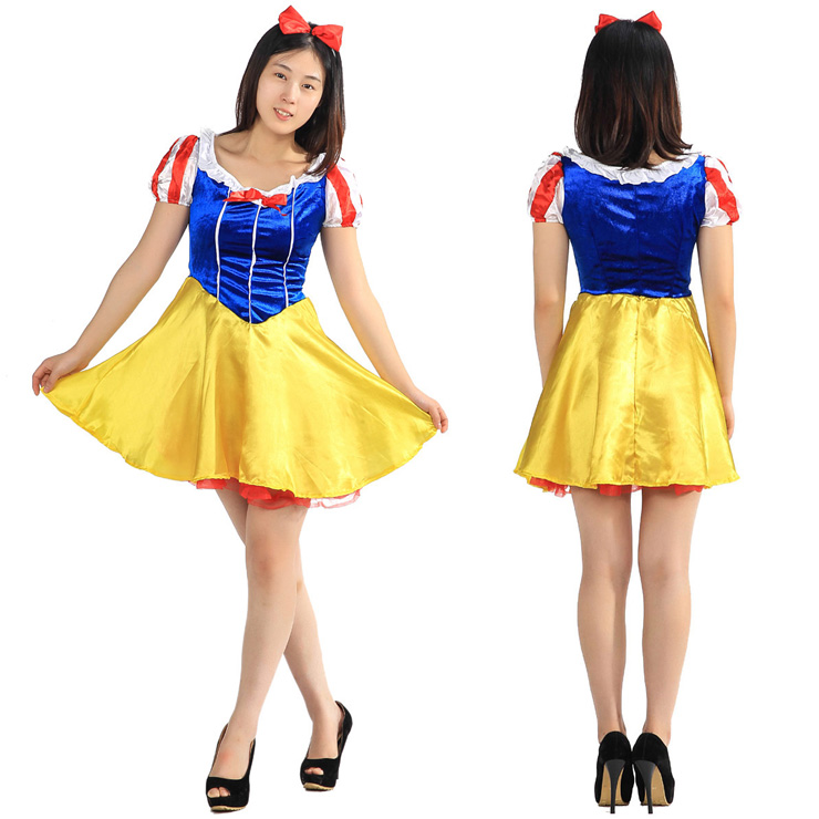64a7eba972c1 FJK costume snow white Princess A cosplay costume new