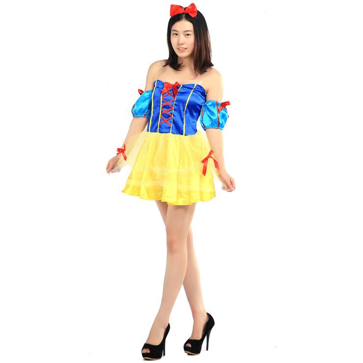 727917858673 FJK costume snow white Princess B FJK-007 cosplay costume new