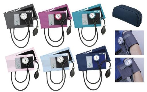 【送料無料】ギヤフリーアネロイド血圧計 カラー:スカイブルー GF700-05【代引不可】
