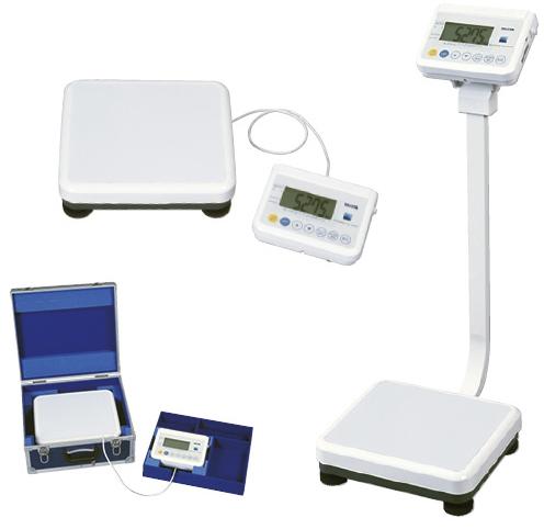 【送料無料】タニタ 精密体重計(検定品) 規格:ポールタイプ 16区仕様 WB-150【代引不可】