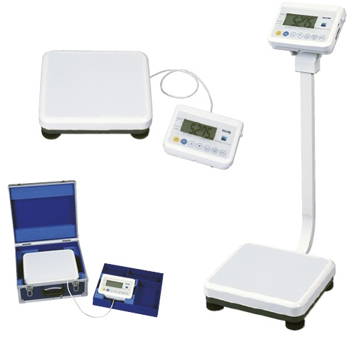 【送料無料】タニタ 精密体重計(検定品) 規格:セパレートタイプ 4区仕様 WB-150【代引不可】