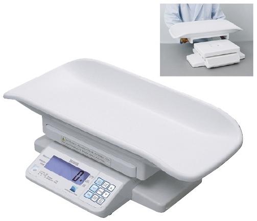 【送料無料】タニタ デジタルベビースケール(検定品) 規格:標準型 2区仕様 BD-715A【代引不可】