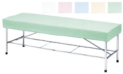 タオル防水診察台カバー 適用サイズ:600×1800mm グリーン C-600【代引不可】