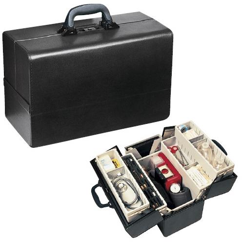 【送料無料】往診鞄 コンチェルティナ サイズ:W430×D210×H270mm 1.06.311【代引不可】