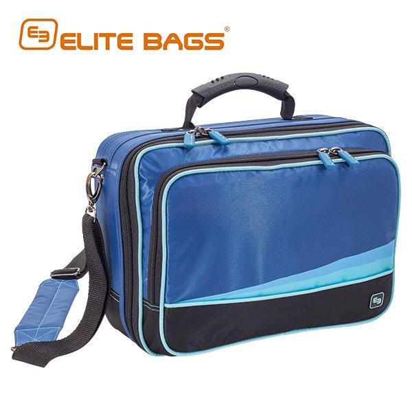 【送料無料】エリートバッグ社 メディカルバッグ コミュニティ サイズ:W350×D140×H255mm カラー:ブルー EB01.008【代引不可】