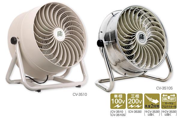 【送料無料】ナカトミ 35cmSUS循環送風機 風太郎CV-3510S(008022) 扇風機 サーキュレーター【個人宅配送不可】【代引不可】