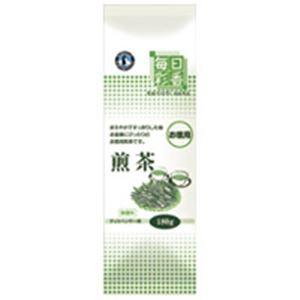 【送料無料】ホシザキ 給茶機用パウダー茶 毎日彩香 お徳用煎茶【代引不可】