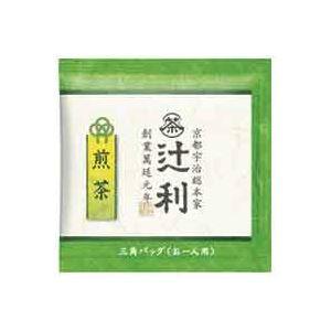 【送料無料】(業務用40セット)片岡物産 煎茶 〔×40セット〕【代引不可】 50バッグ入 辻利 三角バッグ