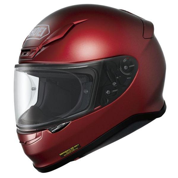 【送料無料】フルフェイスヘルメット Z-7 ワインレッド L 〔バイク用品〕【代引不可】