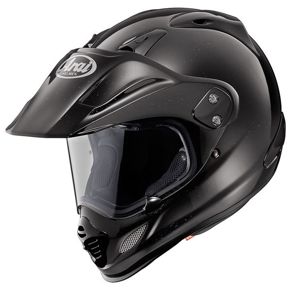 【送料無料】アライ(ARAI) オフロードヘルメット TOUR-CROSS 3 グラスブラック S 55-56cm【代引不可】