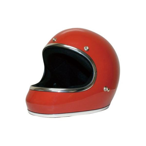 ダムトラックス(DAMMTRAX) ヘルメット AKIRA レッド M【代引不可】【北海道・沖縄・離島配送不可】