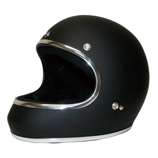 【送料無料】ダムトラックス(DAMMTRAX) ヘルメット AKIRA マットブラック M【代引不可】