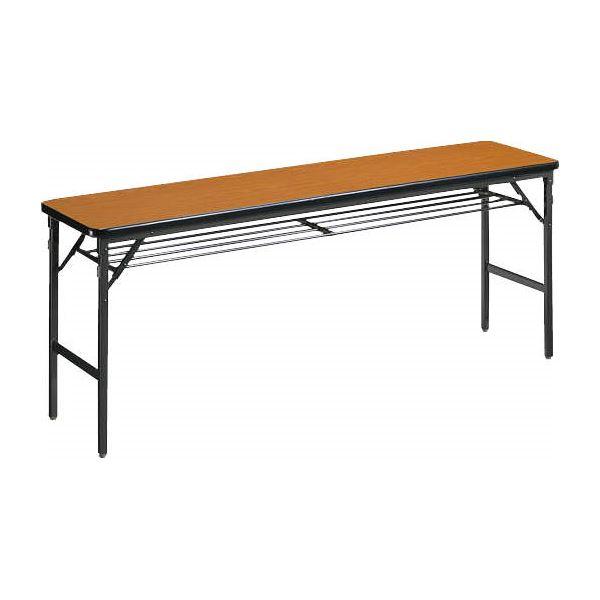 【送料無料】ゼミテーブル LV-1845 チーク【代引不可】