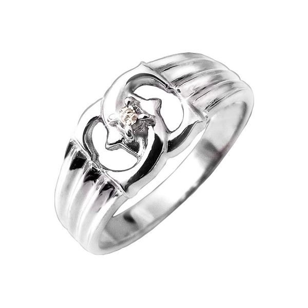 エックスダイヤリング 指輪 15号【代引不可】【北海道・沖縄・離島配送不可】