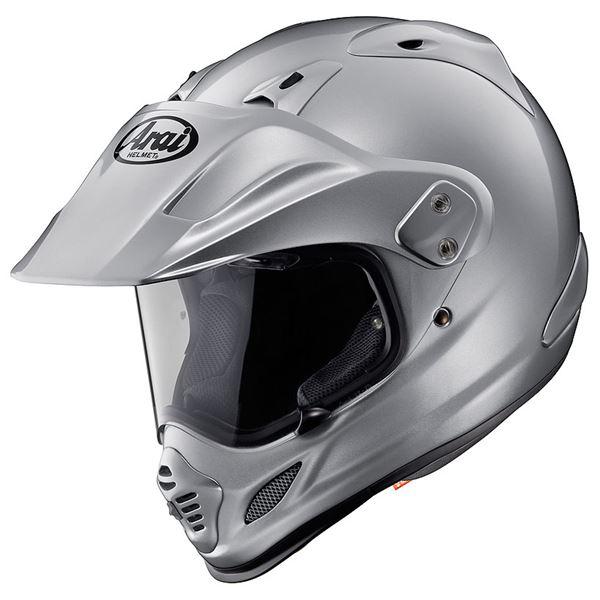 【送料無料】アライ(ARAI) オフロードヘルメット TOUR-CROSS 3 アルミナシルバー L 59-60cm【代引不可】