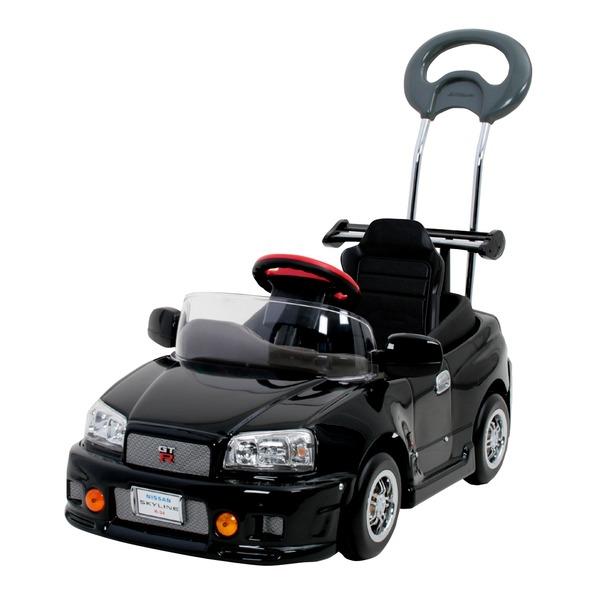 【送料無料】押手付ペダルカー スカイライン GT-R R34【代引不可】