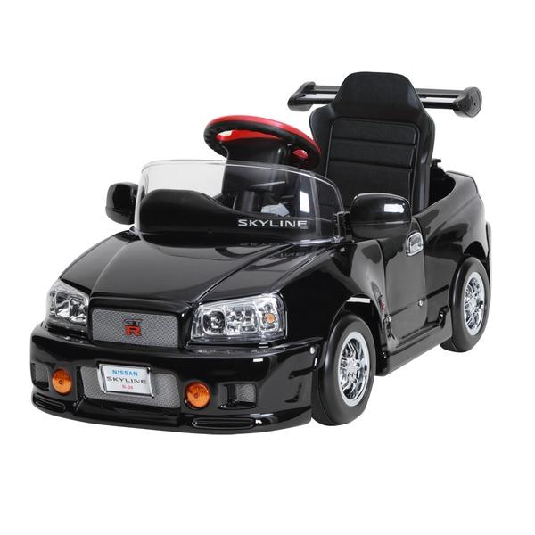 【送料無料】ペダルカー スカイライン GT-R R34【代引不可】