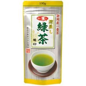 【送料無料】(業務用20セット)朝日茶業 牧の香り深蒸し緑茶800 亀 100g【代引不可】