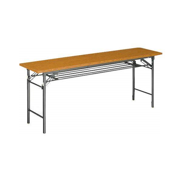 【送料無料】ゼミテーブル LA-1845 チーク【代引不可】