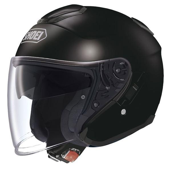 【送料無料】ジェットヘルメット シールド付き J-CRUISE ブラック L 〔バイク用品〕【代引不可】