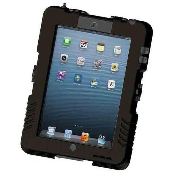 【送料無料】Andres Industries(アンドレス) 防水型iPadケース アイシェル(リッチブラック)〔日本正規品〕 AG290002【代引不可】