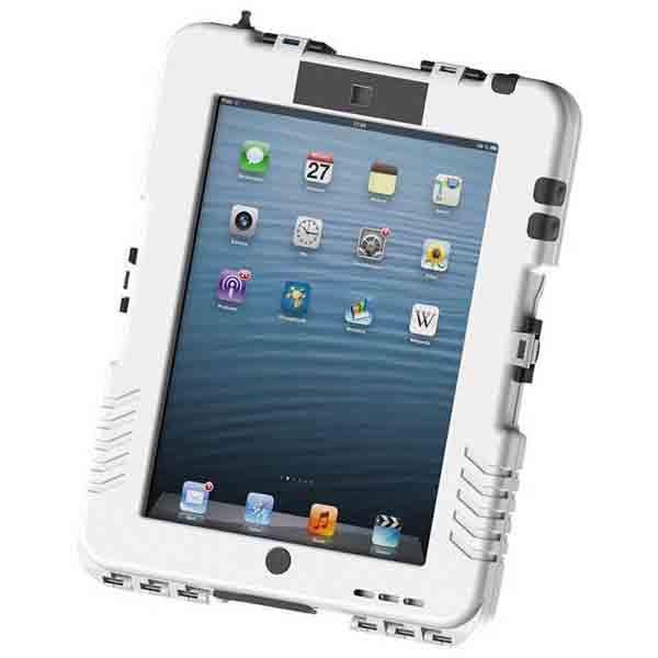 【送料無料】Andres Industries(アンドレス) 防水型iPadケース アイシェル(マットホワイト)〔日本正規品〕 AG290003【代引不可】