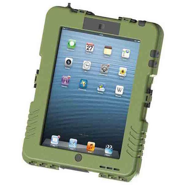 【送料無料】Andres Industries(アンドレス) 防水型iPadケース アイシェル(タクティカルブルー)〔日本正規品〕 AG290004【代引不可】