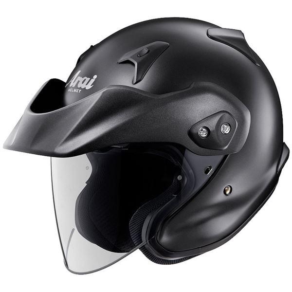 【送料無料】アライ(ARAI) ジェットヘルメット CT-Z フラットブラック M 57-58cm【代引不可】