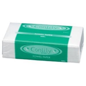 【送料無料】(業務用80セット)紺屋製紙 ペーパータオル ソフトコンリリー 1個 〔×80セット〕【代引不可】
