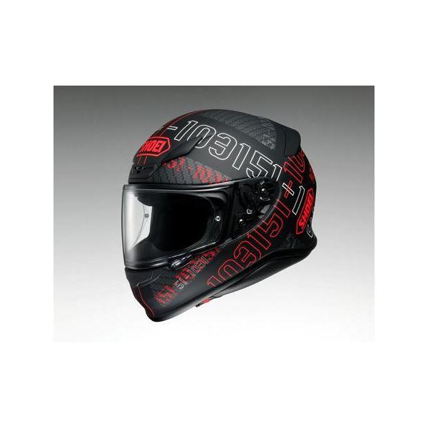 【送料無料】ショウエイ(SHOEI) フルフェイスヘルメット Z-7 PERMUTATION TC-1 レッド/ブラック M【代引不可】