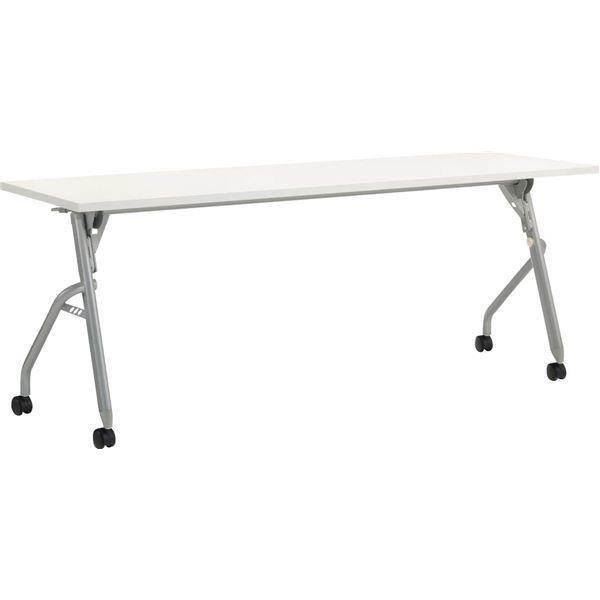 【送料無料】フラップテーブル 幕板なし W1800×D600mm【代引不可】