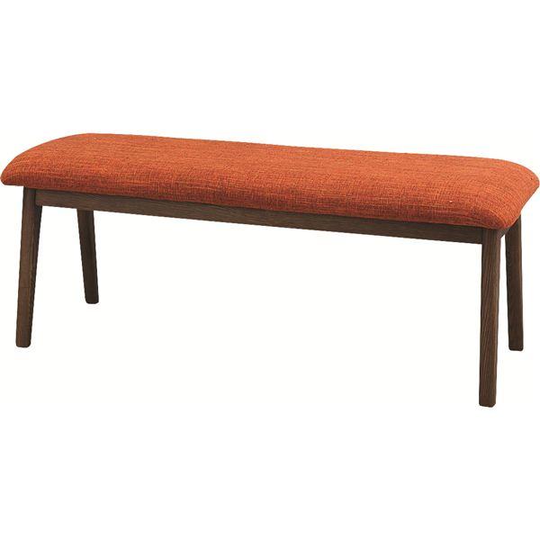 【送料無料】モタ ベンチ 木製(天然木) 高さ37cm HOC-330BR ブラウン【代引不可】