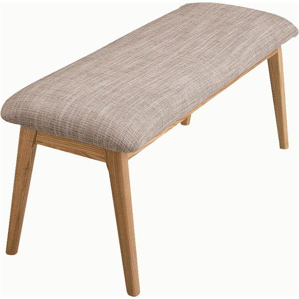 【送料無料】モタ ベンチ 木製(天然木) 高さ37cm HOC-330NA ナチュラル【代引不可】
