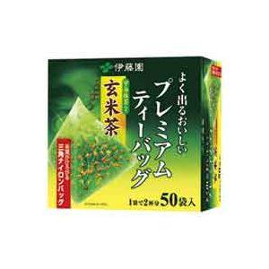 【送料無料】(業務用20セット)伊藤園 プレミアムティーバッグ 抹茶入り玄米茶50P ×20セット【代引不可】