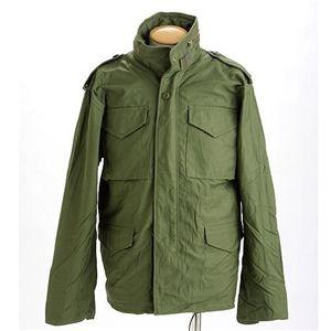 米軍 M-65 フィールドジャケット オリーブ L 〔 レプリカ 〕【代引不可】【北海道・沖縄・離島配送不可】