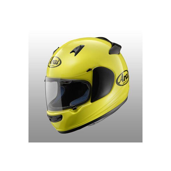 【送料無料】アライ(ARAI) フルフェイスヘルメット Quantum-J マックスイエロー XL 61-62cm【代引不可】