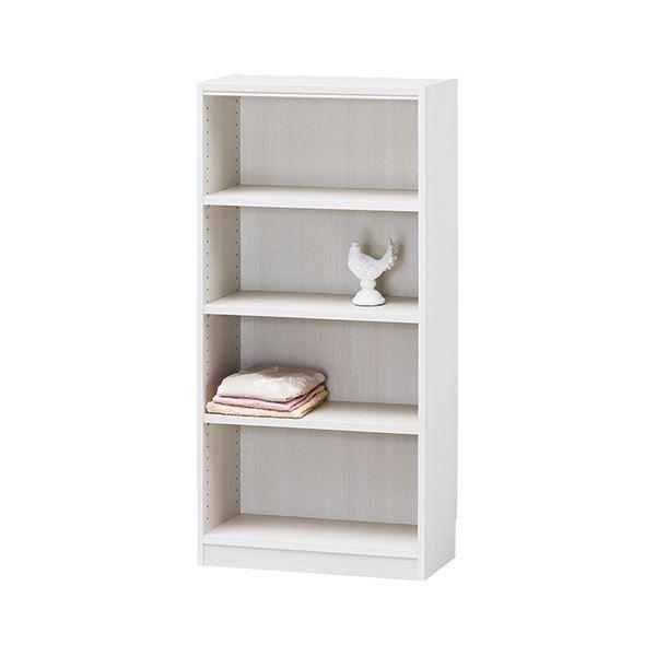 【送料無料】白井産業 木製棚タナリオ TNL-1259 ホワイト【代引不可】