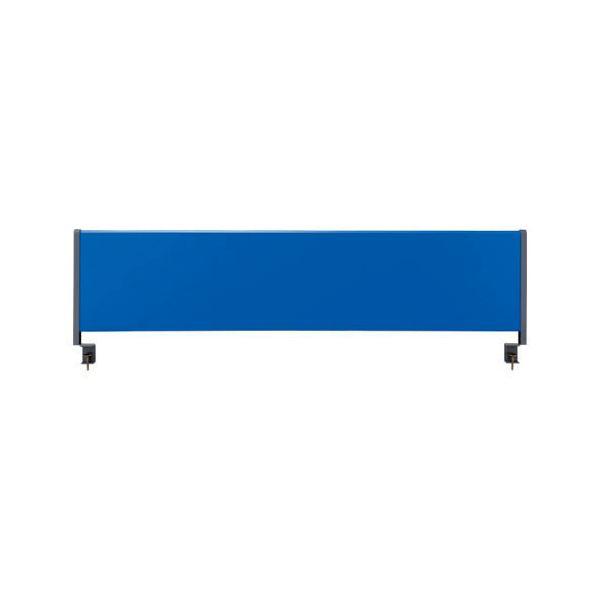 【送料無料】林製作所 デスクトップパネル/オフィス用品 〔スチールタイプ 幅140cm用〕 ブルー YSP-S140BL【代引不可】