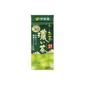 【送料無料】(業務用8セット)伊藤園 紙パックお~いお茶濃い味 250ml×24本 ×8セット【代引不可】