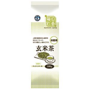 【送料無料】ホシザキ 給茶機用パウダー茶 毎日彩香 お徳用玄米茶【代引不可】