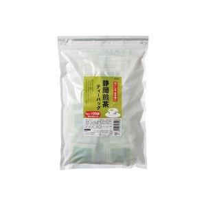【送料無料】(業務用7セット)寿老園 静岡煎茶ティーバッグ 2g×100袋 ×7セット【代引不可】