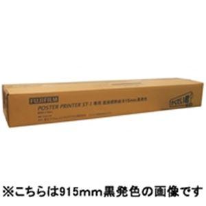 【送料無料】富士フィルム(FUJI) ST-1用感熱紙 白地黒字728X60M2本STD728BK【代引不可】