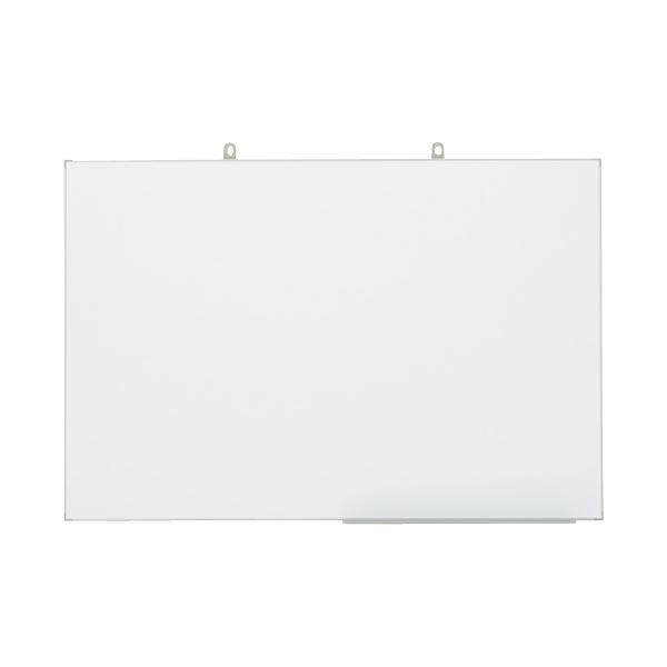 【送料無料】日学 壁掛ホワイトボード LT-13 無地 890*600mm【代引不可】
