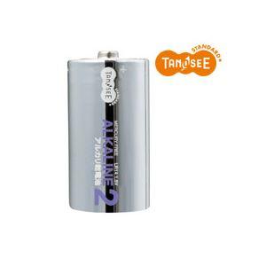 (まとめ)TANOSEE 単2形 アルカリ乾電池 2本入×50パック【代引不可】