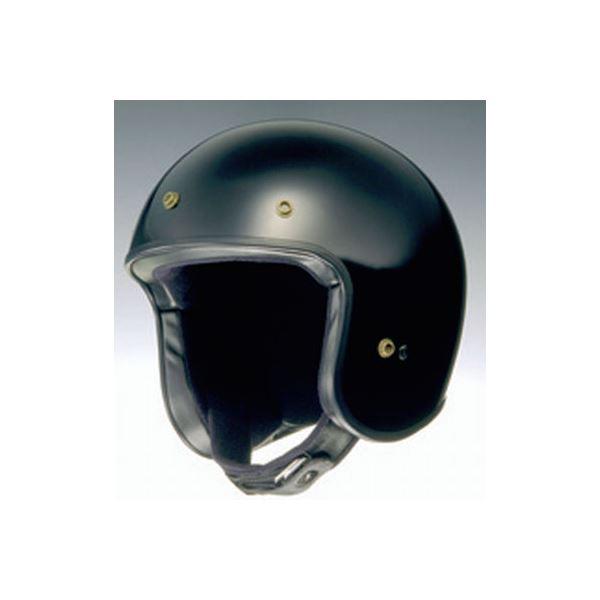 【送料無料】ジェットヘルメット FREEDOM ブラック XL 〔バイク用品〕【代引不可】