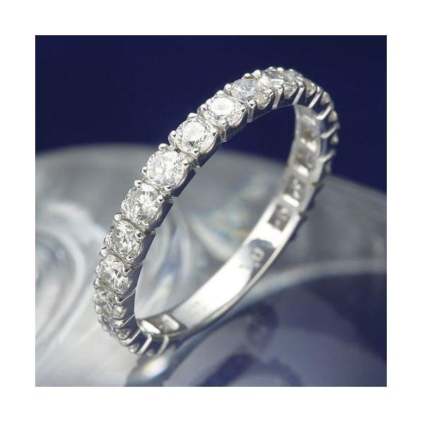 【送料無料】プラチナPt900 1.0ctダイヤリング 指輪 エタニティリング 19号【代引不可】