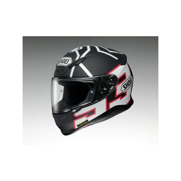 【送料無料】ショウエイ(SHOEI) フルフェイスヘルメット Z-7 MARQUEZ ブラック ANT TC-5 ブラック/ホワイト L【代引不可】